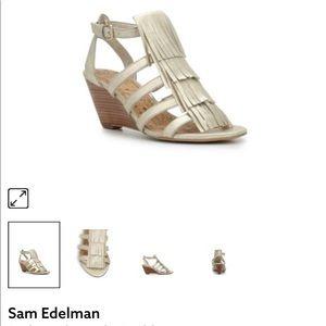ef8463afb Sam Edelman Shoes - Sam Edelman Sandra open toe wedge sandal size 8.5